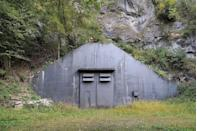 <p>The Swiss military bunkers, located in the Alps in Switzerland, offer a textbook definition of camouflage. Even in a so-called neutral country, Switzerland was ready for plenty in the way of military attacks, created a vast network of secret bunkers, located within rocks, barns, or hillsides. Most have been long abandoned.</p>