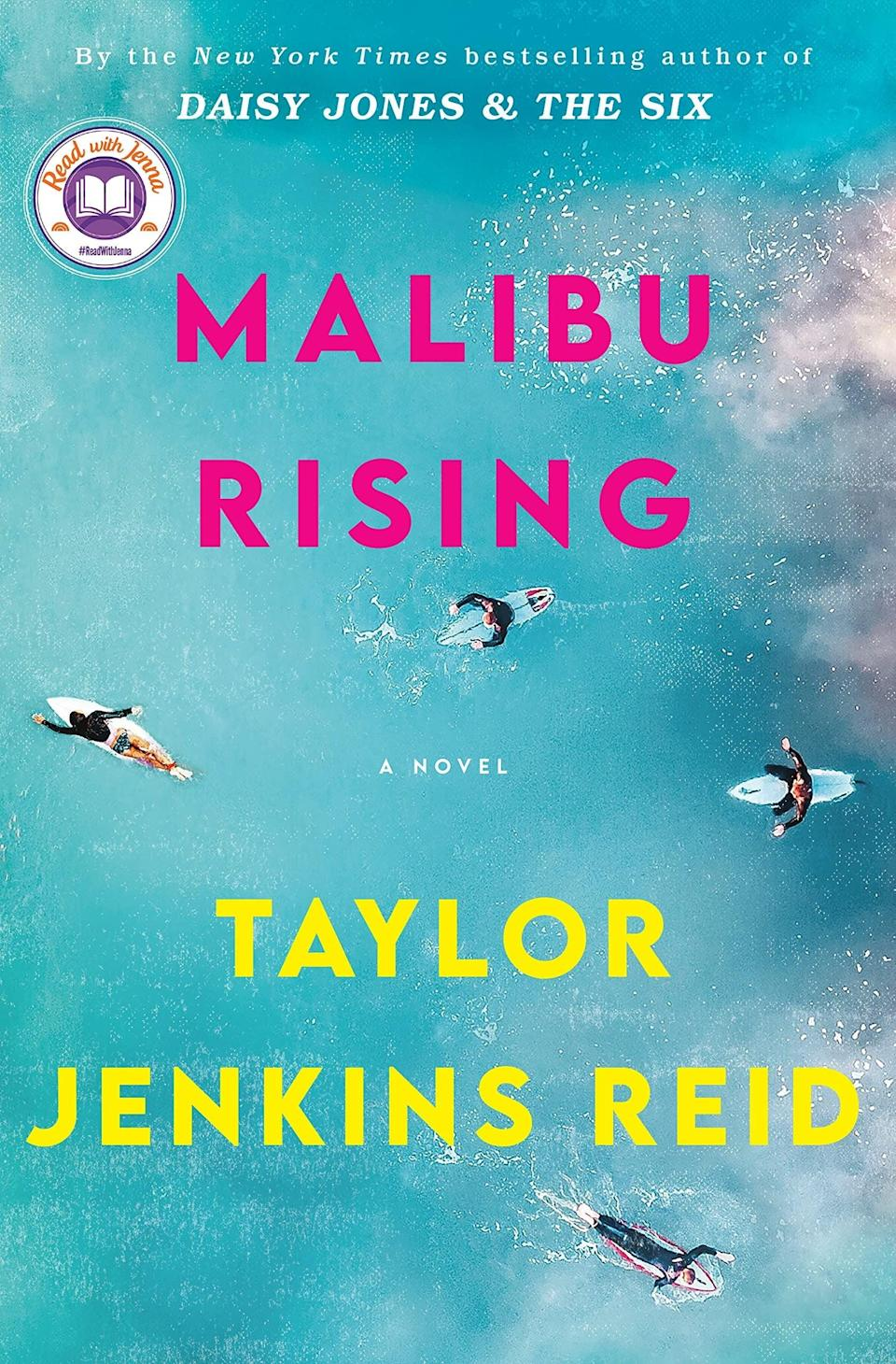 """If anyone is reading the beach book of the summer, it's Coconut Girl. Straight from the author of <em>Daisy Jones & The Six</em>, <em>Malibu Rising</em> tells the tale of one woman's notorious end of the season party. Set in 1983, the story follows surfer and supermodel Nina Riva and her siblings, as they navigate life as children of a famous singer. Having just left her tennis pro husband, Nina is dreading the annual end of summer soiree, but so are other family members who have secrets of their own. As the tension builds, the party begins to lose control, resulting in a disastrous fire. But with the Malibu elite to impress, the Rivas have to try and keep things under control. <br><br><strong>Taylor Jenkins Reid</strong> Malibu Rising, $, available at <a href=""""https://uk.bookshop.org/books/malibu-rising-the-new-novel-from-the-bestselling-author-of-daisy-jones-the-six/9781786331526"""" rel=""""nofollow noopener"""" target=""""_blank"""" data-ylk=""""slk:bookshop.org"""" class=""""link rapid-noclick-resp"""">bookshop.org</a>"""
