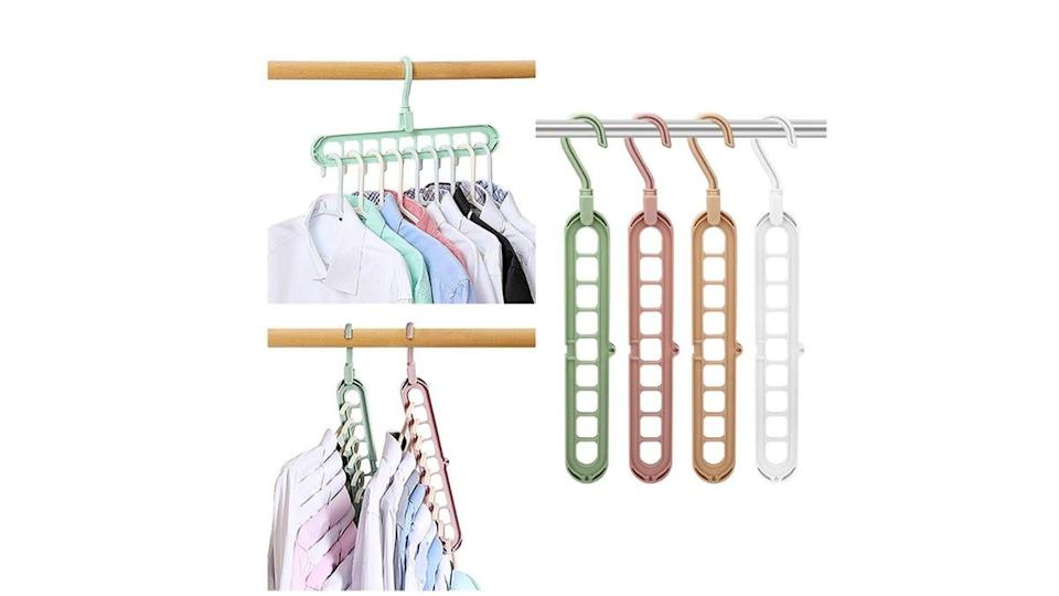 Clean up your wardrobe with this too-cool organizer.