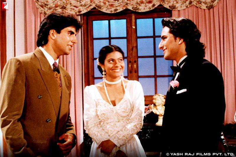 While Akshay was usually associated with mostly action roles then, <em>Yeh Dillagi</em> also showed the world that he isn't bad as a romantic hero too. The movie, also starring Kajol and Saif Ali Khan, earned him his first nomination for Filmfare Award for Best Actor.