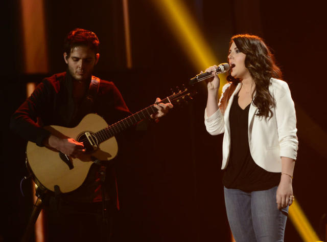 "Kree Harrison performs ""Perfect"" on the Wednesday, May 8 episode of ""American Idol."""