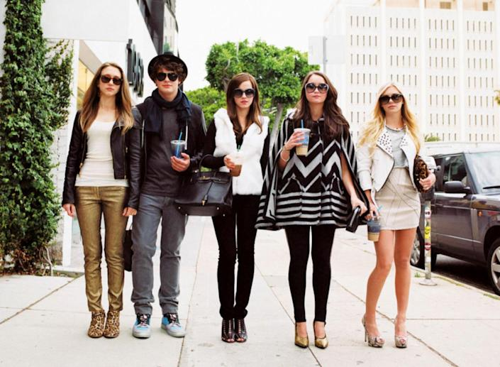 """<p>Picture it: A simpler time (2008–2009), when Paris Hilton and Lindsay Lohan ruled the celebrity scene in Los Angeles. A group of teens decided to start breaking into their homes, along with others', including Rachel Bilson's and Orlando Bloom's. Coppola's 2013 film gives us a fictionalized account of those real-life events. Bonus: You'll get an iconic Valley Girl accent from Emma Watson. It's delicious. </p> <p><a href=""""https://www.netflix.com/title/70271454"""" rel=""""nofollow noopener"""" target=""""_blank"""" data-ylk=""""slk:Available to stream on Netflix"""" class=""""link rapid-noclick-resp""""><em>Available to stream on Netflix</em></a></p>"""