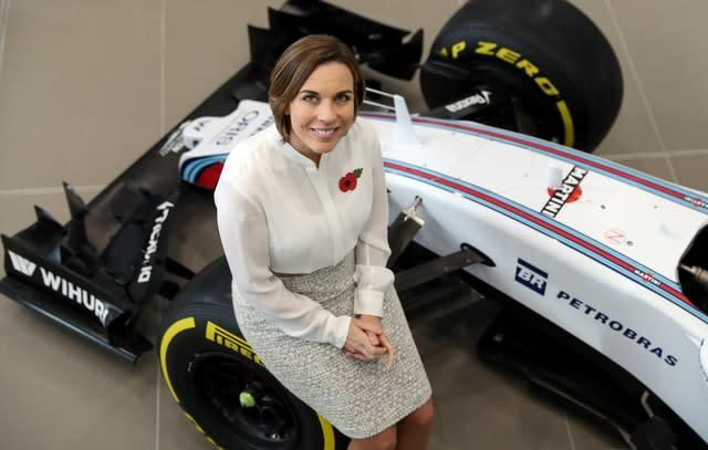 Claire Williams assumed the day-to-day running of her father's team in 2013 (David Davies/PA)