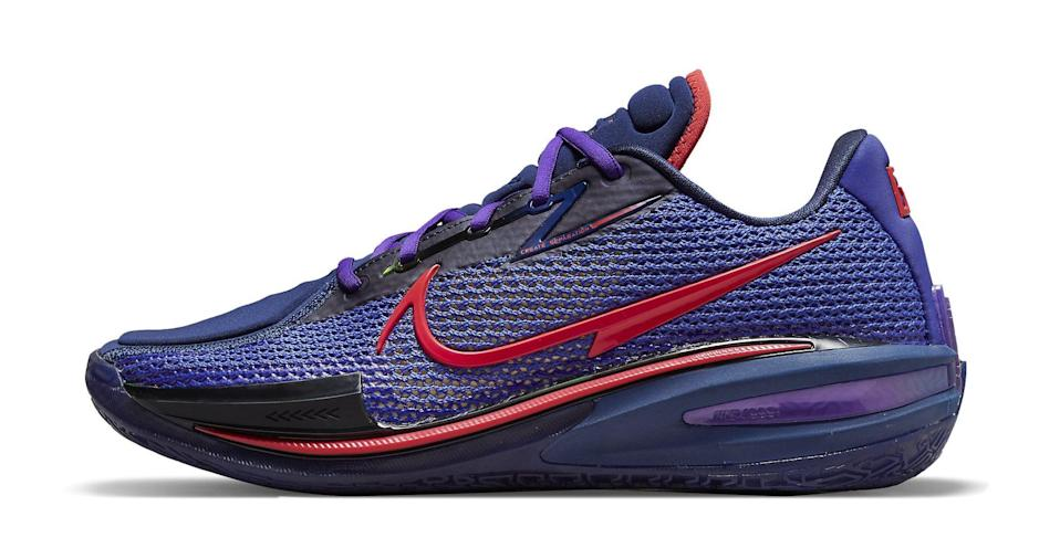 """The lateral side of the Nike Air Zoom G.T. Cut """"Blue Void."""" - Credit: Courtesy of Nike"""