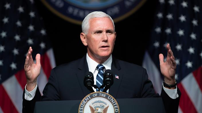 Vice President Mike Pence (Photo: Saul Loeb/AFP/Getty Images)