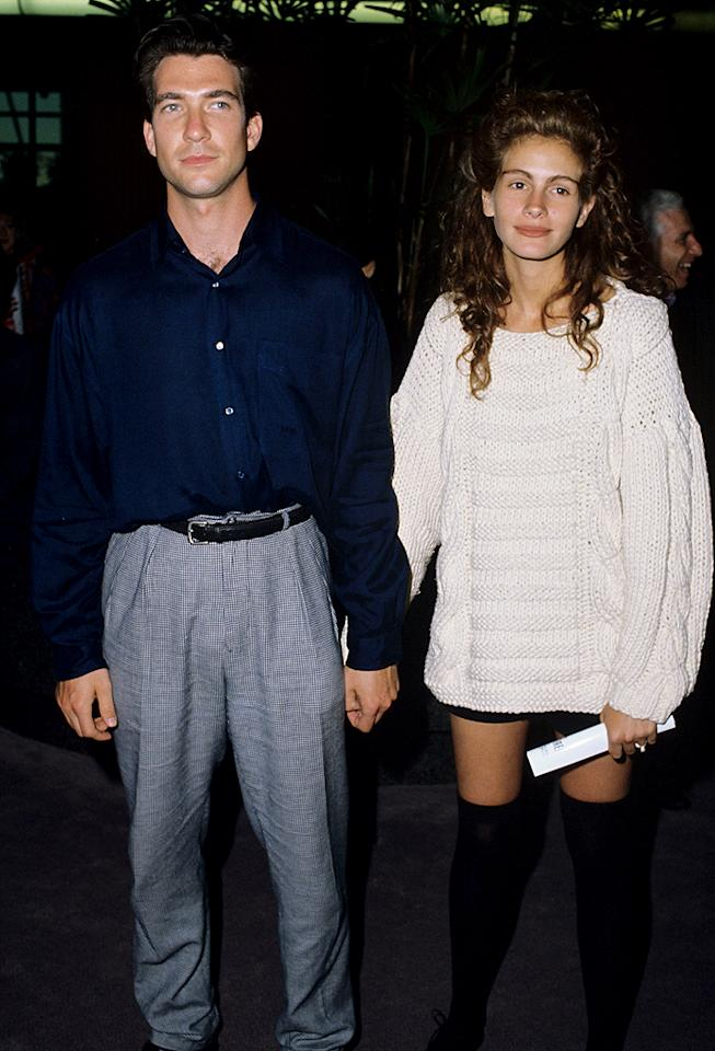 Julia Roberts and Dylan McDermott (Photo by Steve Granitz Archive/WireImage)