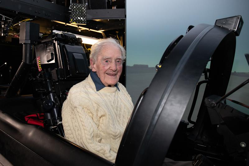 Battle of Britain veteran: Archie McInnes died hours after celebrating his 100th birthday taking the number of surviving members of The Few to five