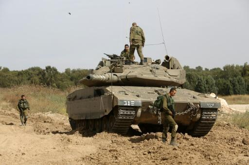 Israeli air strikes hit four Hamas sites in Gaza: military
