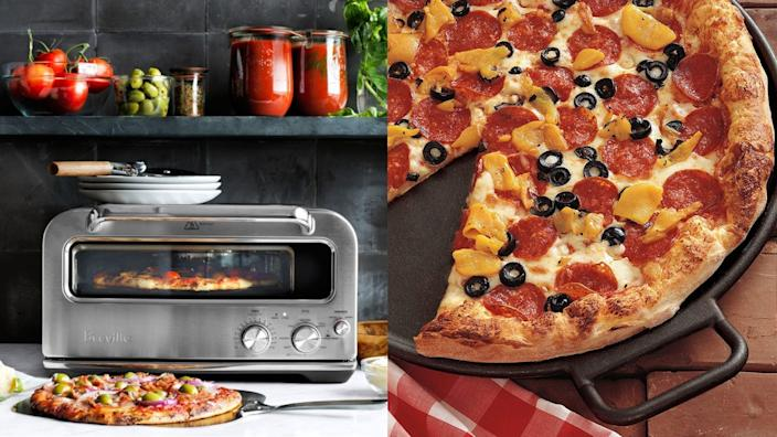 Best kitchen gifts: Lodge Cast Iron Pizza Pan