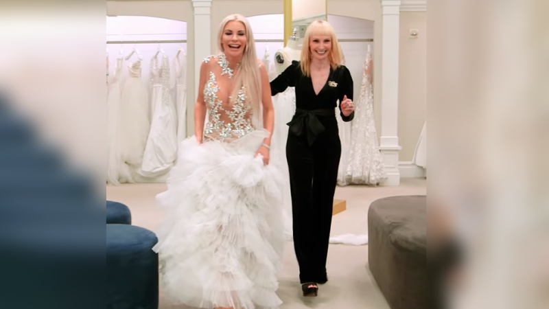 The naked wedding dress on Say Yes to the Dress