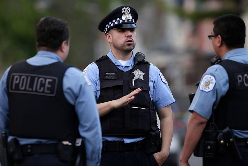 Chicago Police say 2 officers shot and wounded