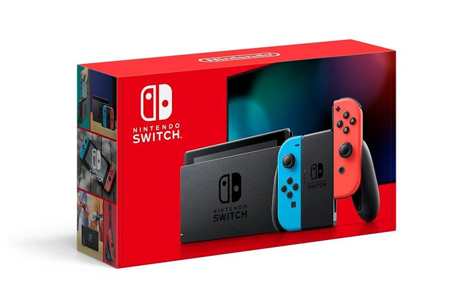 "<p><strong>Nintendo</strong></p><p>gamestop.com</p><p><strong>$299.99</strong></p><p><a href=""https://go.redirectingat.com?id=74968X1596630&url=https%3A%2F%2Fwww.gamestop.com%2Fvideo-games%2Fswitch%2Fconsoles%2Fproducts%2Fnintendo-switch-with-neon-blue-and-neon-red-joy-con%2F11095819.html%3Frecom%3Dboth%26condition%3DNew&sref=https%3A%2F%2Fwww.housebeautiful.com%2Fshopping%2Fg34533826%2Fbest-purchases-during-pandemic-home-editors%2F"" rel=""nofollow noopener"" target=""_blank"" data-ylk=""slk:Shop Now"" class=""link rapid-noclick-resp"">Shop Now</a></p><p>""The Nintendo Switch sold out just about everywhere in the spring, but my partner and I finally tracked one down a few months ago and have been playing <a href=""http://www.gamestop.com/video-games/switch/games/products/animal-crossing-new-horizons/10168434.html"" rel=""nofollow noopener"" target=""_blank"" data-ylk=""slk:Animal Crossing: New Horizons"" class=""link rapid-noclick-resp"">Animal Crossing: New Horizons</a> together ever since. It's a fun way to pass the time while we're staying home, and I love that it's so versatile—it's easy to hook up to the TV so we can play on a bigger screen, but it can also be used in its portable standalone form in any room of the apartment. Plus, we can play games with our friends online, so it's a great way to stay connected from afar!"" <em>–Brittney Morgan, Market Editor</em></p>"