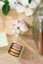 """<p>Send your guests home with some homemade treats, and use these decorative flowers to make the boxes extra special. </p><p><strong><em>Get the tutorial at <a href=""""https://www.countryliving.com/diy-crafts/how-to/g1111/easter-crafts/?slide=1"""" rel=""""nofollow noopener"""" target=""""_blank"""" data-ylk=""""slk:Country Living"""" class=""""link rapid-noclick-resp"""">Country Living</a>. </em></strong></p>"""
