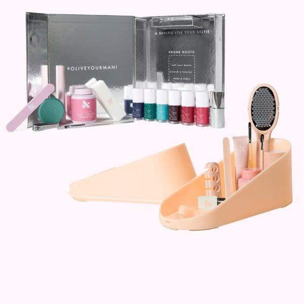 """<p>""""For the at-home spa lover, or the nail newbie, there's really nothing better than this <span>Olive &amp; June The Complete System</span> ($130). It's got everything they'll need for the ultimate mani and pedi. Plus, all the colors are gorgeous, and they stay put. I've gone a full week without chips, nicks, or dings - just saying."""" - IY</p>"""