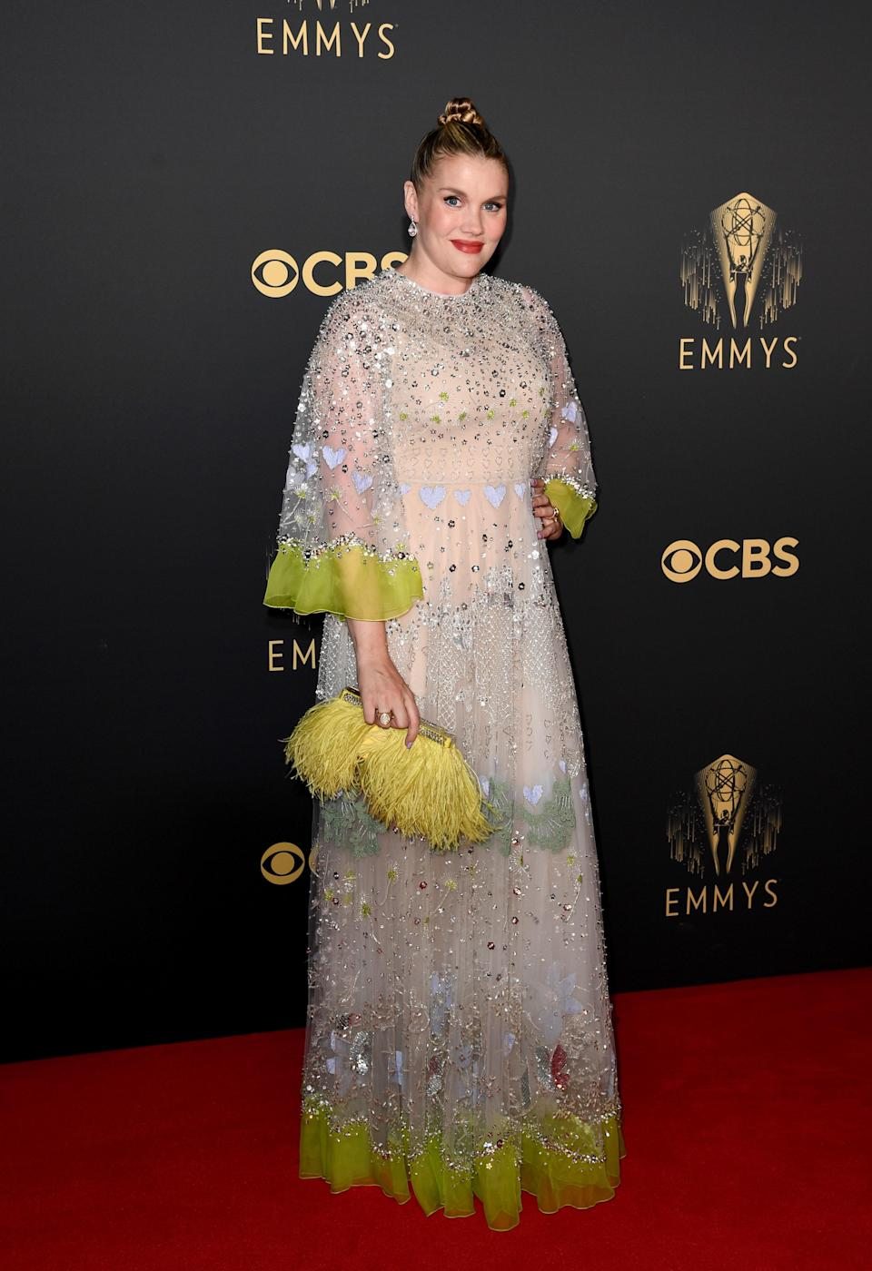 """<h1 class=""""title"""">Emerald Fennell in Valentino</h1><cite class=""""credit"""">Photo: Getty Images</cite>"""