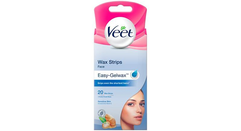 Veet Facial Wax Strips Sensitive