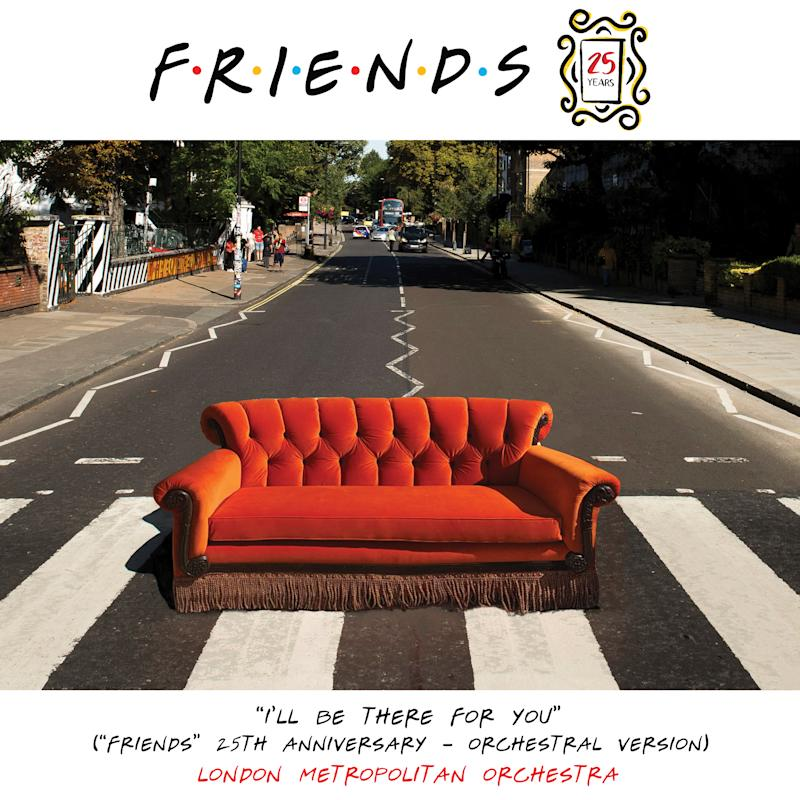 The 'Friends 25th Anniversary - Orchestral Version)' cover art. (Photo: Warner Bros.)