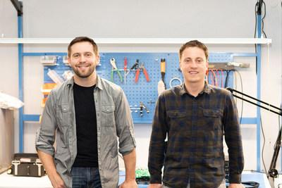 Breadware founders Danny DeLaveaga and Daniel Price at their headquarters in Reno, Nevada.