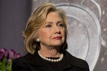 """Former U.S. Secretary of State, Hillary Clinton attends the U.S. Agency for International Development at """"Cookstoves Future"""" summit in New York"""