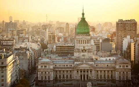 Buenos Aires, the Argentinian capital - Credit: istock