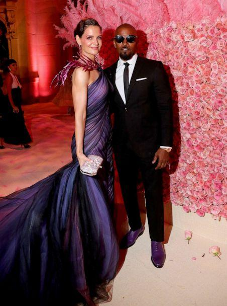 PHOTO: Katie Holmes and Jamie Foxx attend The 2019 Met Gala Celebrating Camp: Notes on Fashion at Metropolitan Museum of Art on May 06, 2019 in New York City. (Kevin Tachman/mg19/Getty Images for The Met Museum)