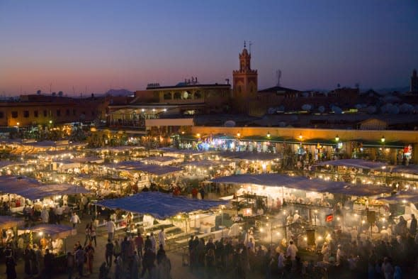 british woman stabbed in Marrakech