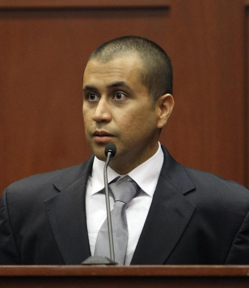 FILE - In a Friday, April 20, 2012, file photo, George Zimmerman appears before Circuit Judge Kenneth R. Lester Jr. during a bond hearing in Sanford, Fla. Zimmerman's attorney says his client's bail might have been higher if a judge had known about $200,000 raised by a website. Mark O'Mara said on CNN's Anderson Cooper 360 that he only learned about the money Wednesday and will inform a judge at a hearing Friday, April 28, 2012. Friday's hearing was initially scheduled to deal with several media organizations, including The Associated Press, asking the judge to unseal documents from Zimmerman's court file.   (AP Photo/Orlando Sentinel, Gary W. Green, Pool, File)