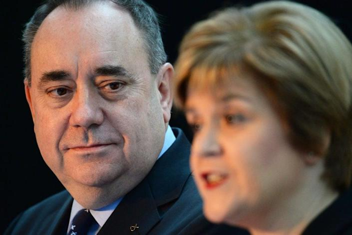 Alex Salmond will detail his claims on Friday afternoonGetty Images