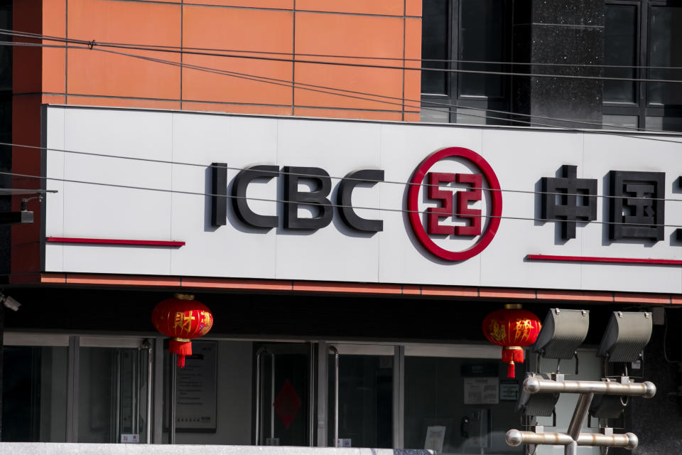 Dozens at China's ICBC bank test negative for coronavirus after fever