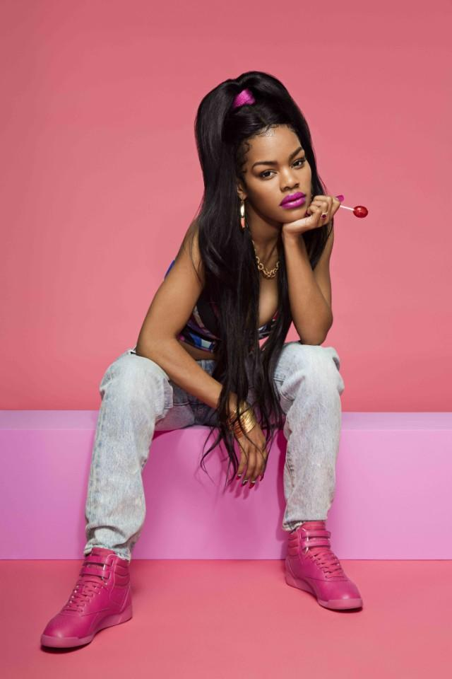 """Reebok Classic And Teyana Taylor Unveil Freestyle """"Color Bomb"""" Sneakers af8352bfa"""