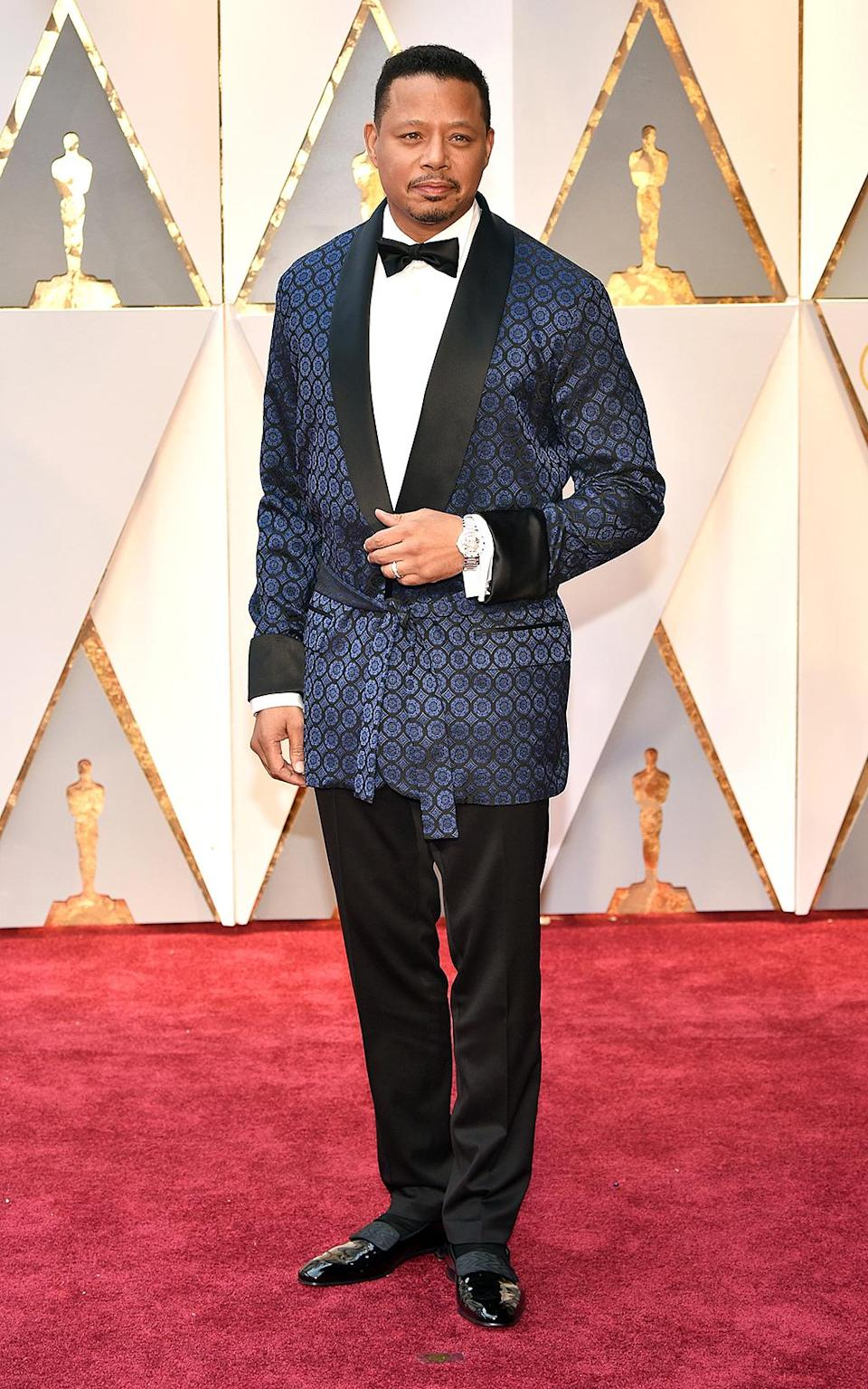 <p>Actor Terrence Howard attends the 89th Annual Academy Awards at Hollywood & Highland Center on February 26, 2017 in Hollywood, California. (Photo by Kevin Mazur/Getty Images) </p>