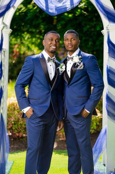PHOTO: Taylor and Isaiah Green-Jones were married in Portland, Aug. 4, 2019. (Deron Patterson/Supreme Optics Photography)