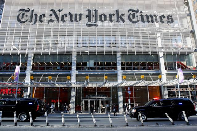 The New York Times published a correction after opinion writer Bari Weiss cited a fake Twitter account to bolster her criticism of liberals. (Shannon Stapleton / Reuters)