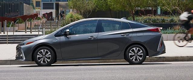 The Prius Prime has a distinctive, polarizing look.
