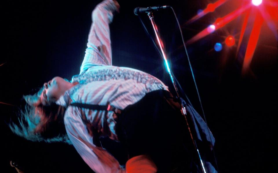 Meat Loaf takes Bat Out of Hell on the road in January 1978 - Waring Abbott