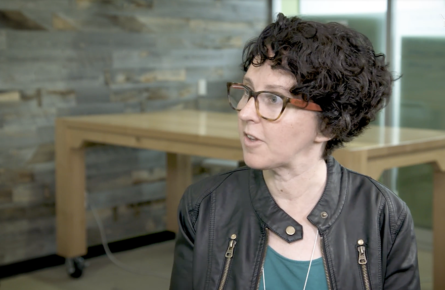Cathy Pearl, head of conversation design outreach, has spent a career in the voice-recognition industry.