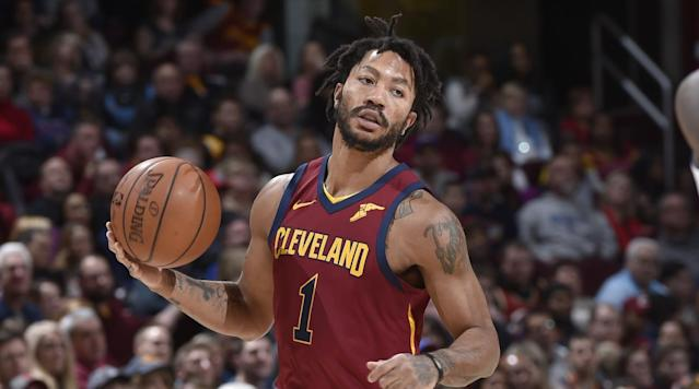 "<p>The Timberwolves are signing Derrick Rose for the rest of the season, <a href=""https://twitter.com/wojespn/status/971771527304794112"" rel=""nofollow noopener"" target=""_blank"" data-ylk=""slk:ESPN's Adrian Wojnarowski reports"" class=""link rapid-noclick-resp"">ESPN's Adrian Wojnarowski reports</a>. </p><p>Rose has been without a team ever since he was waived by the Jazz on Feb. 10, two days after a deadline-day trade with the Cavs. He then went unclaimed on waivers. </p><p>Minnesota was long rumored as the eventual landing spot for Rose, given that head coach Tom Thibodeau has acquired a handful of his former Bulls players, like Taj Gibson and Jimmy Butler. </p><p>Rose was decent with the Knicks last year but struggled in his brief time in Cleveland this season, averaging just 9.8 points and 1.6 assists in 19.3 minutes per game over 16 appearances. </p><p>The Wolves are locked in a wild playoff race in the Western Conference. They're currently 38–28, good for sixth place, but just 2 1/2 games ahead of the 10th-place Jazz and 1 1/2 games behind the third-place Blazers. </p>"