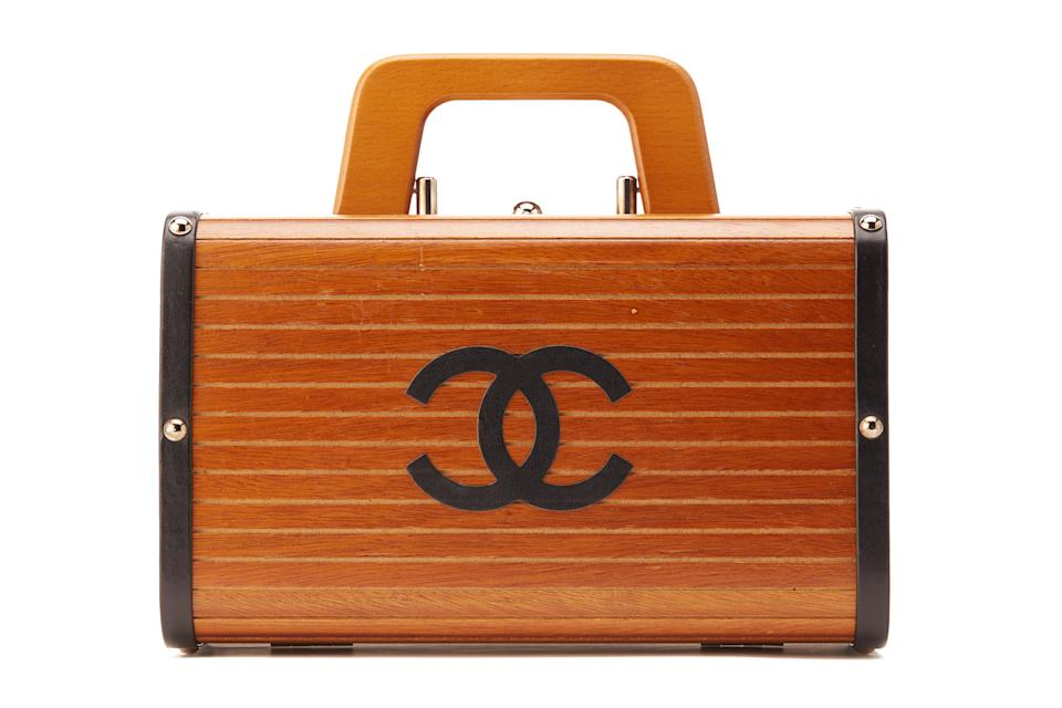 Chanel limited edition wooden trunk. (PHOTO: Hotlotz)