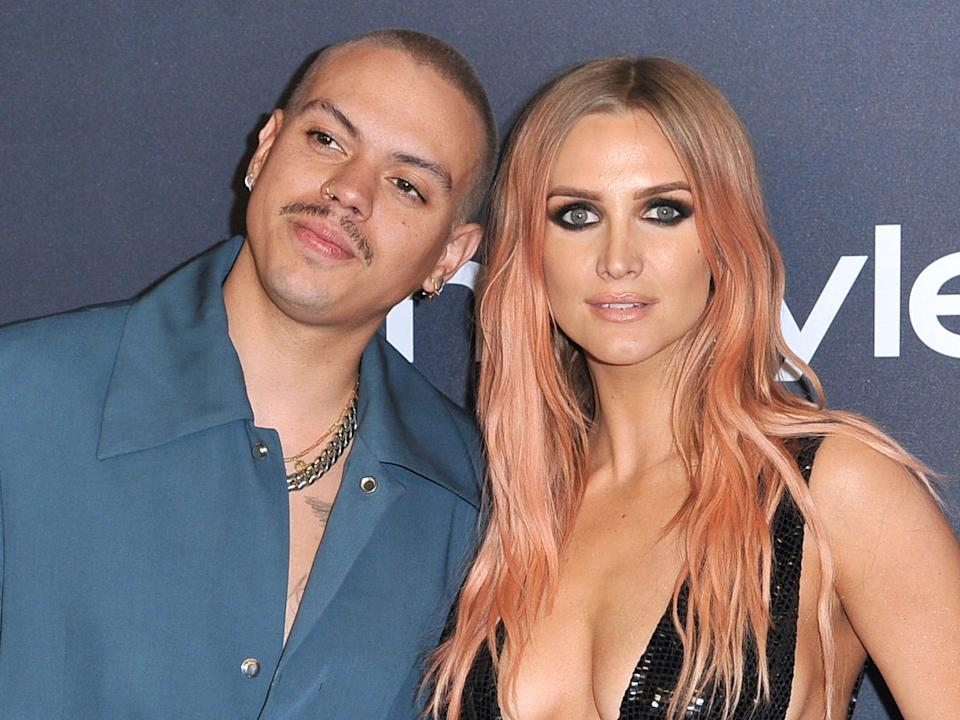 evan ross and ashlee simpson january 2020
