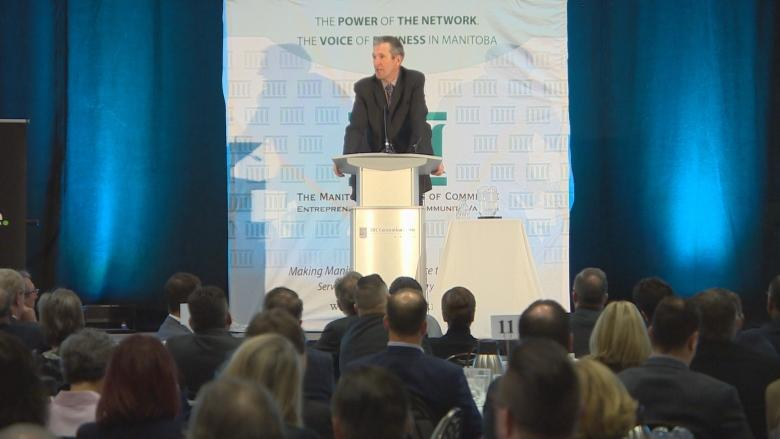 Brian Pallister marks a year in office with speech to business community