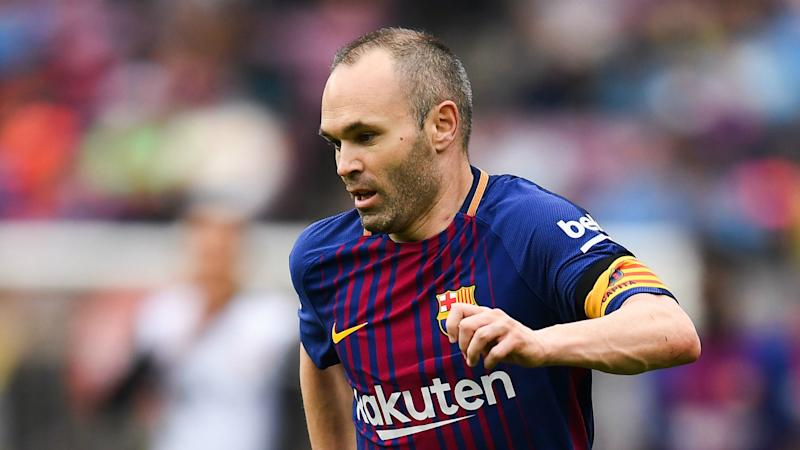 Iniesta's Barcelona departure 'not certain yet' - Valverde