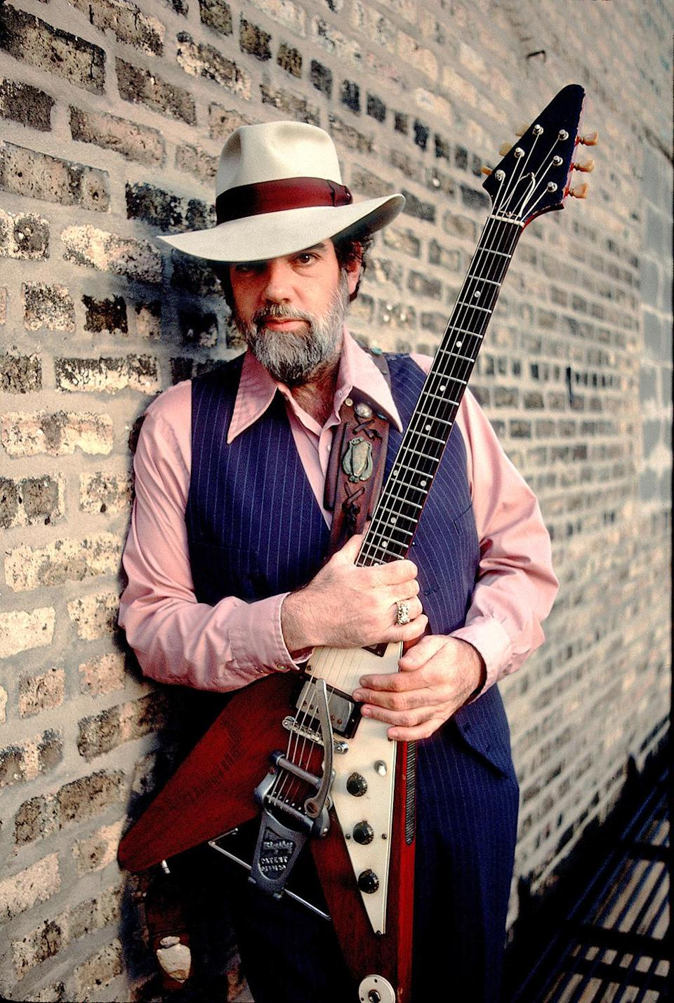 Lonnie Mack was an American blues/country singer and pioneering, influential guitarist. He died of natural causes on April 21 at age 74. (Photo: Getty Images)