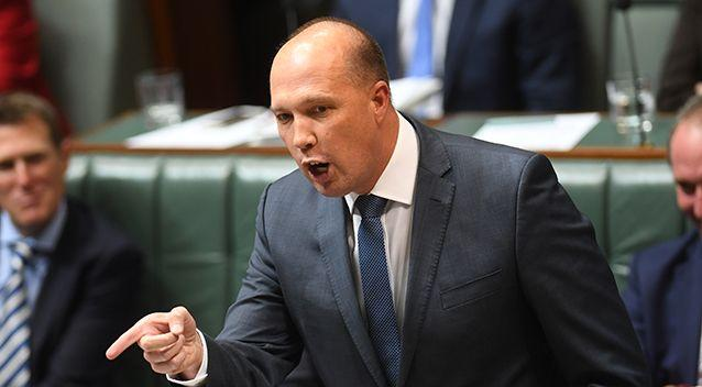 Mr Dutton had his decision to cancel the visas overturned by the Administrative Appeals Tribunal. Photo: AAP