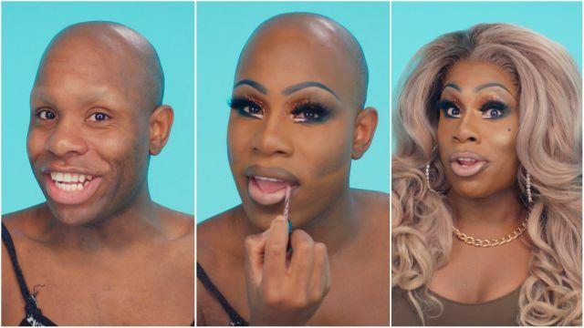 Monét X Change, a contestant on Season 10 of RuPaul's Drag Race, shows us her drag transformation.