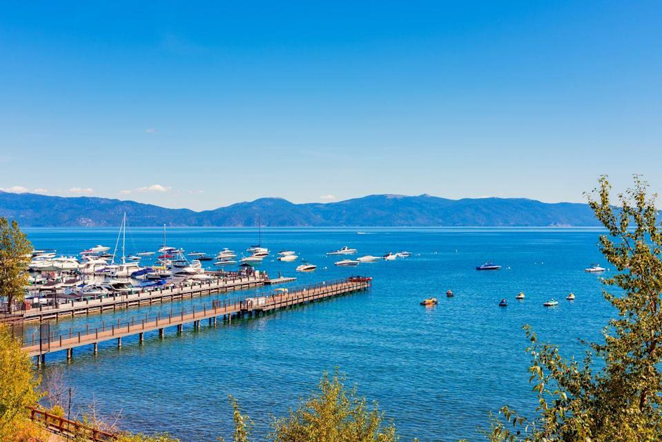<p>Lake Tahoe's shores are filled with amazing towns to visit, but Tahoe City boasts gorgeous views of the lake, along with shopping and art galleries. </p>