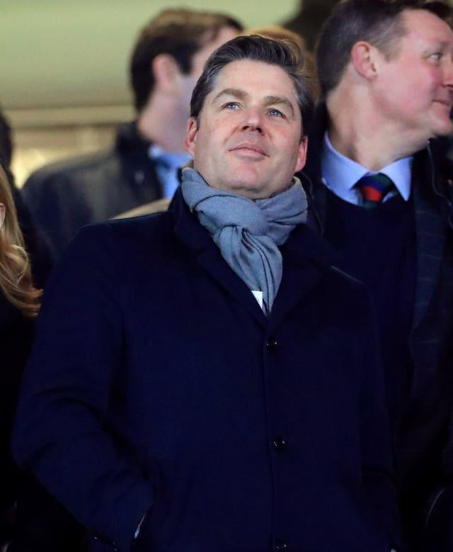 Premier League chief executive Richard Masters