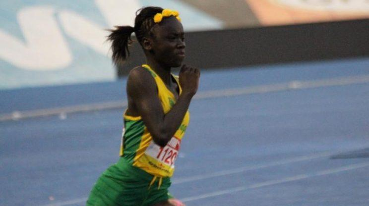 Jamaica's rising track star Brianna Lyston, who is 12 years old, is being called the next Usain Bolt. (Photo: Facebook/Team Jamaica)