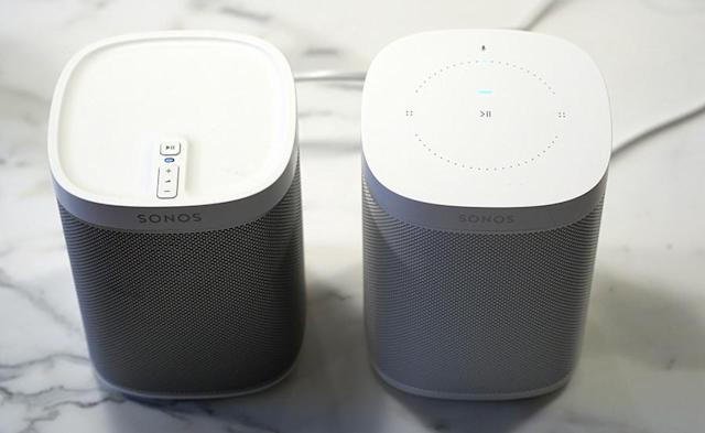Both the Play:1 and the new One cost $200, but they look and sound identical except for the top buttons.