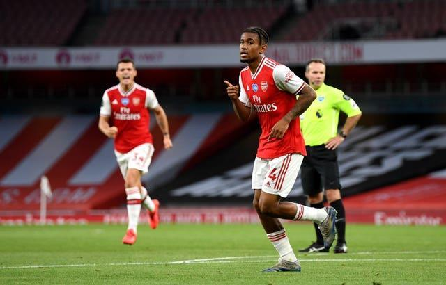 Reiss Nelson scored the winning goal the last time Liverpool visited the Emirates Stadium.