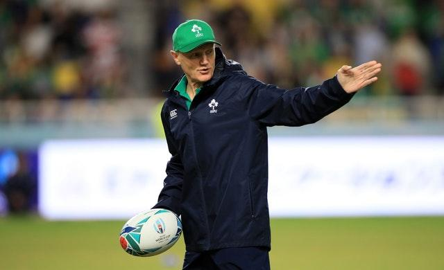 Joe Schmidt, pictured, is holding out hope that Bundee Aki will not be suspended for the rest of the World Cup (Adam Davy/PA)